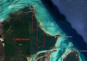 1900 ACRES MANGROVE CAY, ,Lots/acreage,For Sale,1900 ACRES MANGROVE CAY,42713
