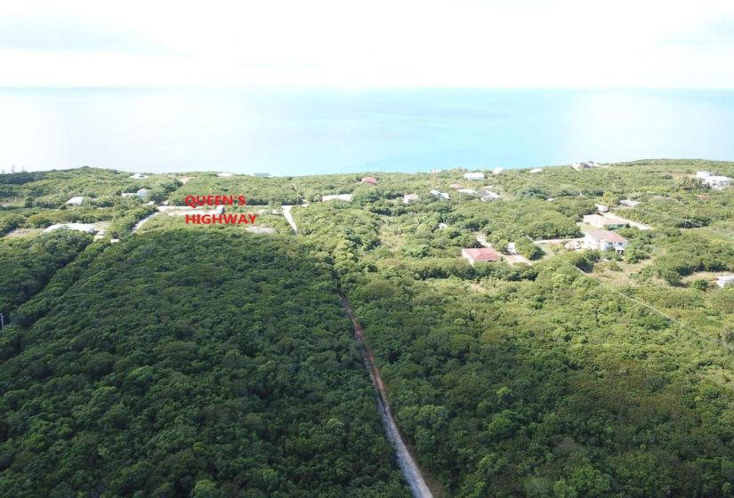 Aerial View Of Queens Highway 2