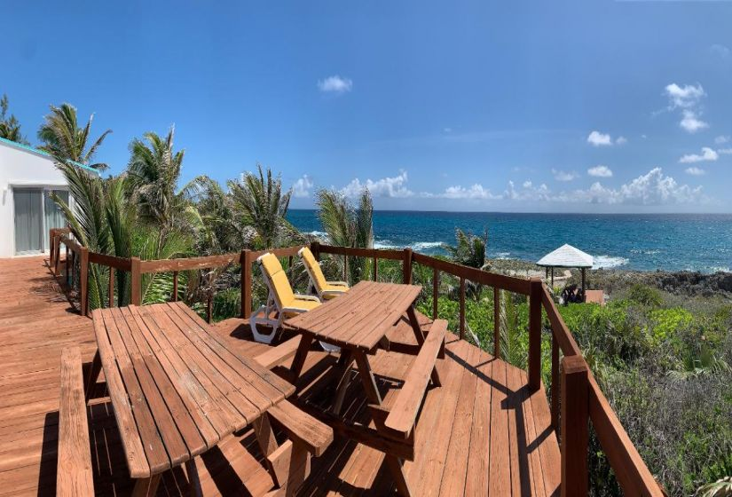 View from Deck to the Ocean