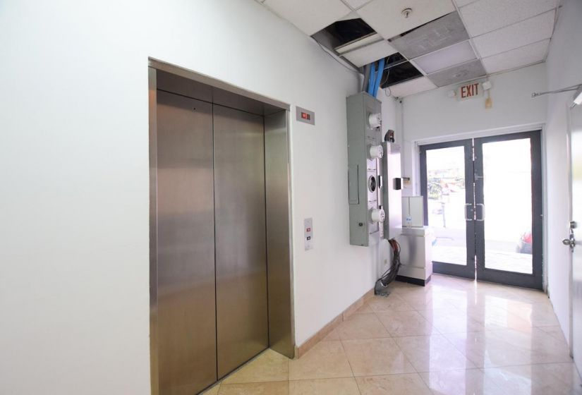 Elevator and Exit